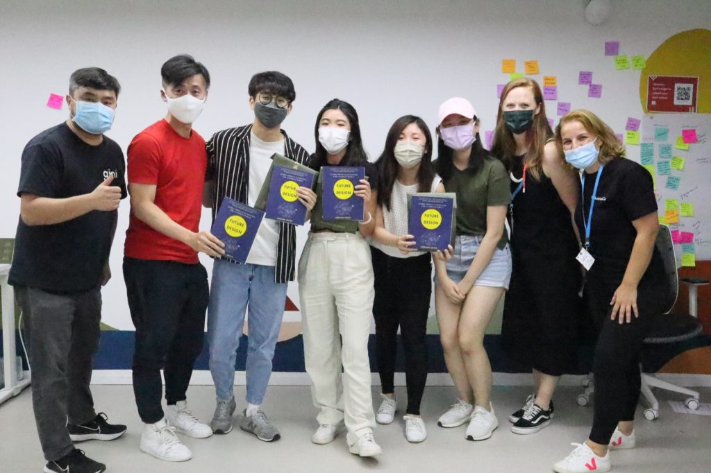 The winners of the 2021 Global Service Jam in Hong Kong