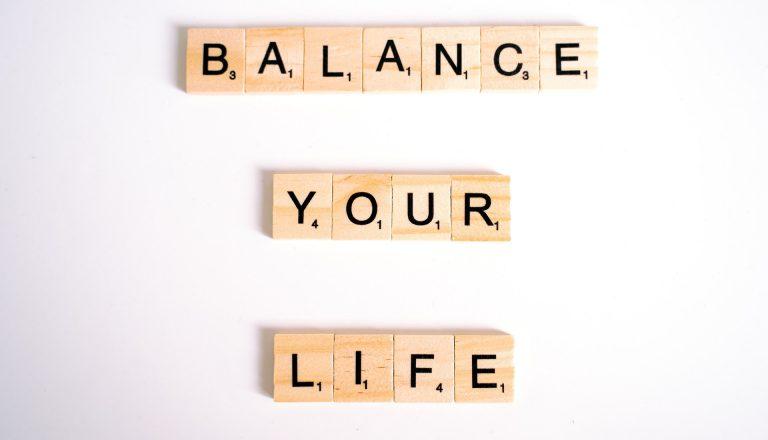 Maintaining a work-life balance